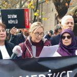 ALADAĞ'IN ACILI ANNELERİ ANKARA'DA EYLEM YAPTI